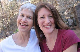 Susan and Kim